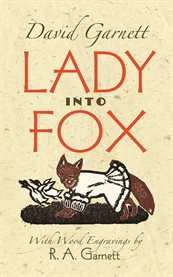 Lady into fox cover image