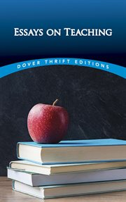 Essays on teaching cover image
