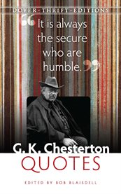 G. K. Chesterton Quotes cover image