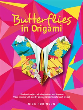 Cover image for Butterflies in Origami