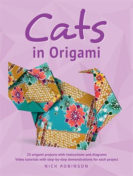 Cover image for Cats in Origami