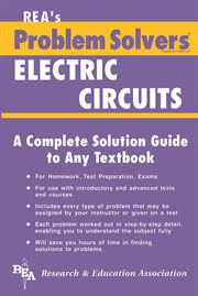 The electric circuits problem solver cover image