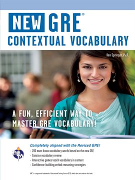 Cover image for GRE Contextual Vocabulary