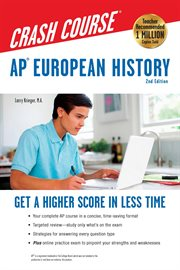 AP℗' European History Crash Course Book + Online