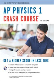 AP℗' Physics 1 Crash Course Book + Online