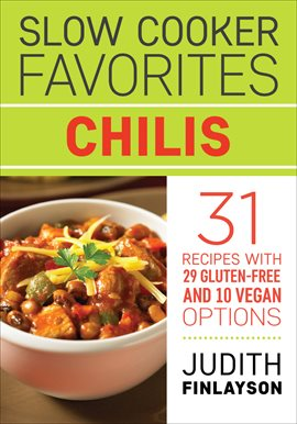 Slow Cooker Favorites: Chilis, book cover