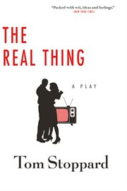 The real thing : a play cover image