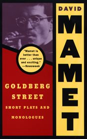Goldberg Street: short plays and monologues cover image