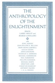 The anthropology of the Enlightenment cover image