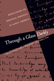Through a glass, darkly cover image