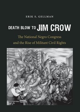 Cover image for Death Blow to Jim Crow