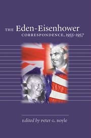The Eden-Eisenhower correspondence, 1955-1957 cover image