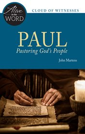 Paul, pastoring god's people cover image