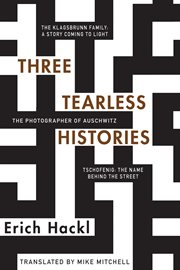 Three Tearless Histories cover image