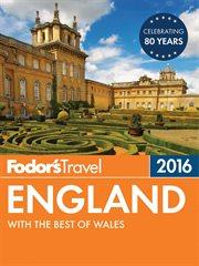 Fodor's 2016 England