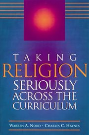Taking religion seriously across the curriculum cover image