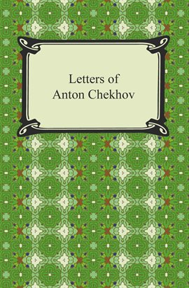 Cover image for Letters of Anton Chekhov