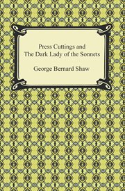 Press cuttings and the dark lady of the sonnets cover image