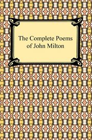 The complete poems of John Milton cover image