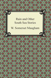 Rain and other South Sea stories cover image