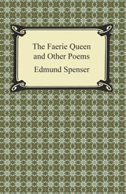 The faerie queen and other poems cover image