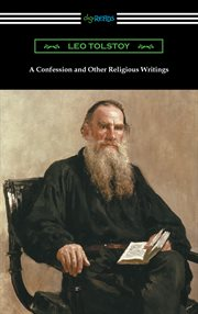 A confession and other religious writings cover image