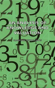 An Analysis of Knowledge and Valuation