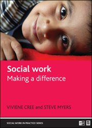 Social work: voices from the inside cover image