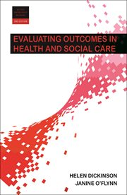 Evaluating Outcomes in Health and Social Care