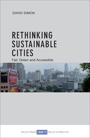 Rethinking sustainable cities : accessible, green and fair cover image