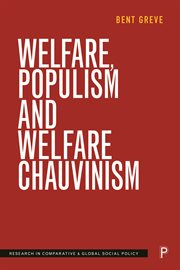 Welfare, populism and welfare chauvinism cover image