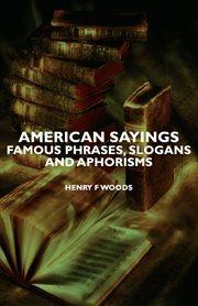 American Sayings