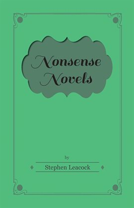 Cover image for Nonsense Novels