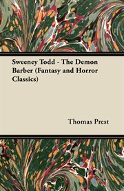 Sweeney Todd the demon barber cover image