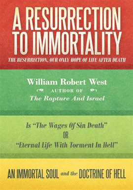 Cover image for A Resurrection to Immortality