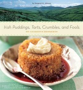Irish Puddings, Tarts, Crumbles, and Fools, book cover