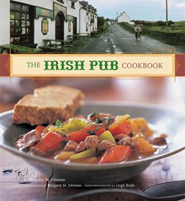 The Irish Pub Cookbook, book cover
