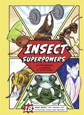 Cover image for Insect Superpowers