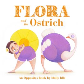 Cover image for Flora and the Ostrich