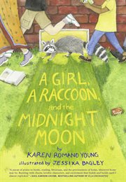 A girl, a raccoon, and the midnight moon cover image