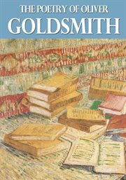 The poetry of Oliver Goldsmith cover image
