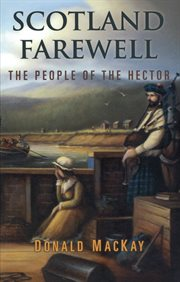 Scotland farewell: the people of the Hector cover image