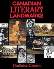 Canadian literary landmarks cover image