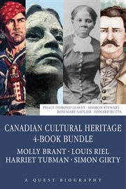 Canadian cultural heritage: 4 book bundle cover image