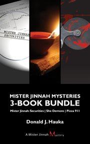 Mister Jinnah mysteries 3-book bundle cover image