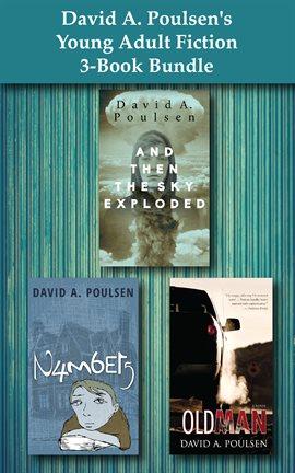 Cover image for David A. Poulsen's Young Adult Fiction 3-Book Bundle