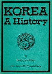 Korea: a history cover image