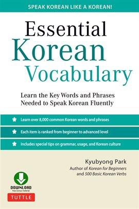 Cover image for Essential Korean Vocabulary