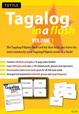 Cover image for Tagalog in a Flash Volume 1