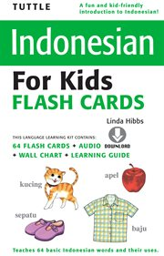 Tuttle Indonesian for Kids Flash Cards
